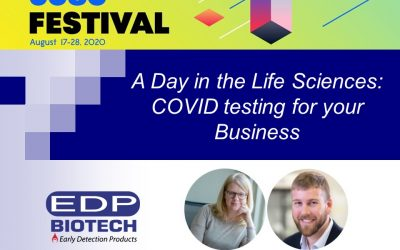 A Day in the Life Sciences LIVE: COVID Testing for Your Business with EDP Biotech