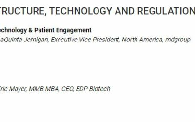 EDP Biotech and MDGroup present Decentralized Trials and Clinical Innovation